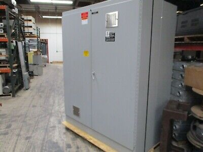 Hoffman Type 12 Enclosure A-907229fsd 2-door Size 90x72x20 Used