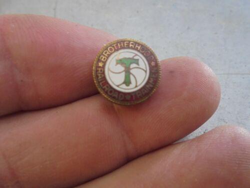 Vintage Brotherhood of Railroad Trainmen Enameled Pin