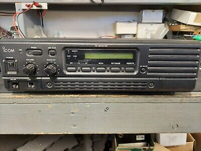 Icom Ic-fr-4000-3 Uhf Repeater Internal Duplexer 450-480 Mhz 50w Rack Mount