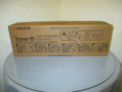 Genuine Kyocera Km-1505 1510 1810 Toner Cartridge New 37029011