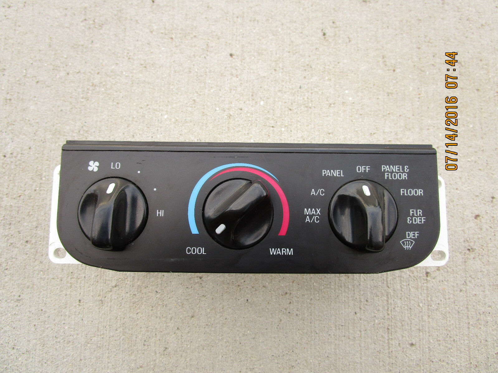 97 03 Ford F150 F 150 A C Heater Climate Control