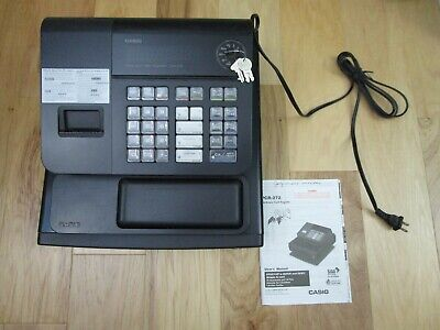 Casio Pcr 272 Electronic Cash Register Wkeys Owners Manual Included