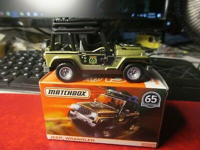 2017 Matchbox 65th Anniversary - Jeep Wrangler 65th Anniversary Jeep Wrangler