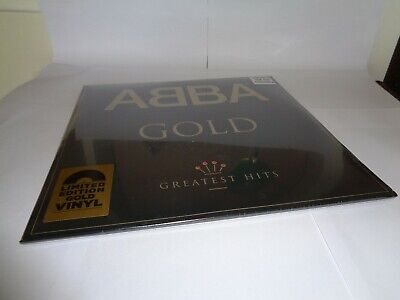 ABBA GOLD HMV GOLD vinyl UK RELEASE NEW SEALED