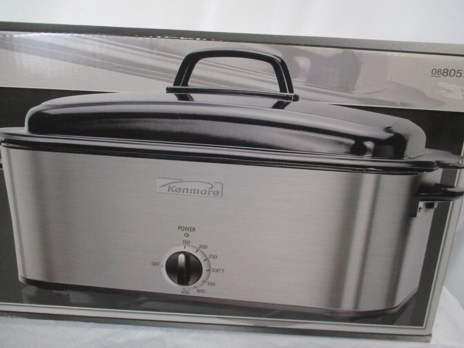 Kenmore 18 Quart Roaster Oven With Buffet Server 080577