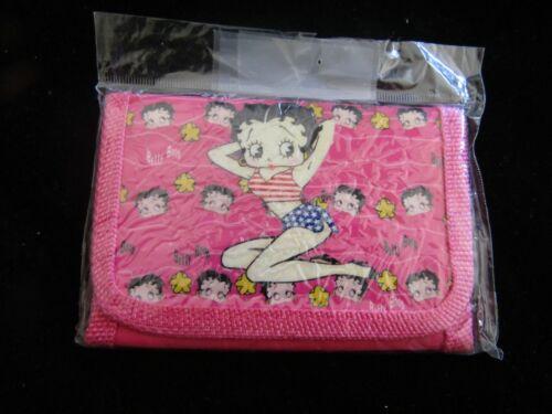 Betty Boop Pink Bi Fold Wallet NEW