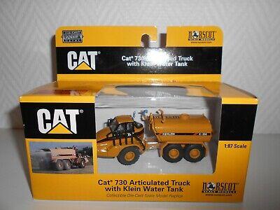 1/64 NORSCOT CAT 730 ARTICULED TRUCK KLEIN WATER CAMION CITERNE A EAU REF55141