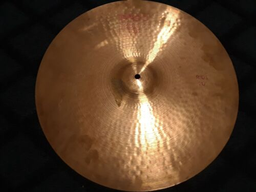 Vintage Paiste 2002 20 Inch Ride Cymbal 1983 Red Label As Is