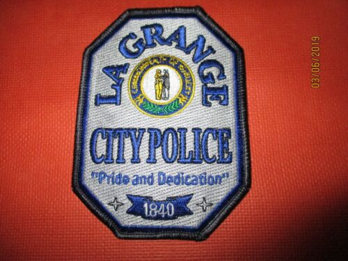 Collectible Kentucky Police Patch,LaGrange,New