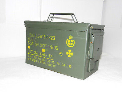 US Munitionskiste , Stahlblech , MG Kiste ,