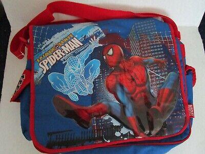 New Marvel 3D Spider Man Large Messenger Laptop School Bag (Spider Man 3 Laptop)