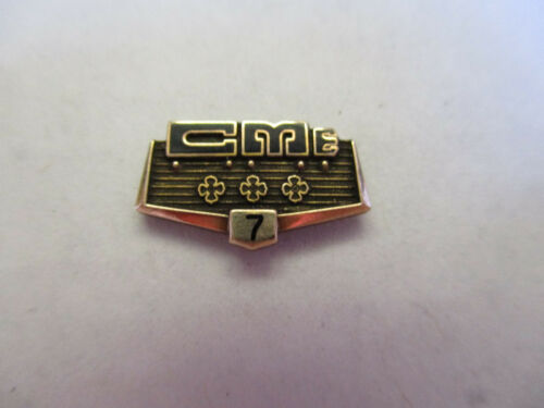California Motor Express CME 7yr Trucking Truck Driver Employee Safety Award Pin
