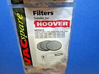 Vintage Hoover Compact S3 series filters pack of 3 FIL118