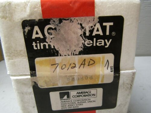 Agastat 7012AD Timing Relay