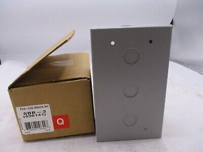 New Fire-lite Alarms Sbb-3 Box