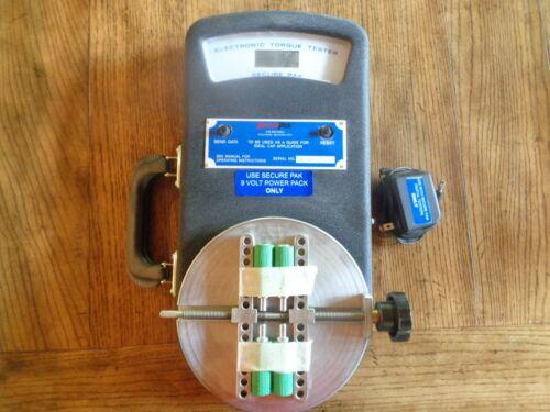 Secure Pak Digital Torque Tester, Screw Cap Torque Testing Solution