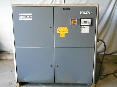 Atlas Copco Ga37 Ff 50 Hp W Dryer Rotary Screw Air Compressor 100 Cfm 4603ph