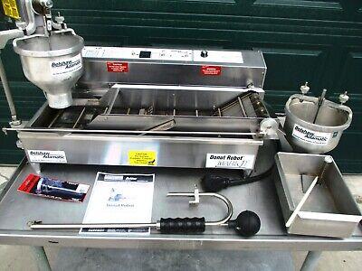 Donut Machine Fryer Belshaw Donut Robot Mark Ii 6800 Nice Aug 2019