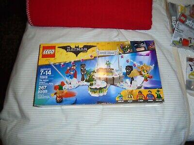 LEGO 70919 - The Batman Movie - Justice League Anniversary Party-5 Minifigs-NISB