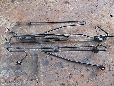 1979 White 2-105 Diesel Farm Tractor Fuel Injection Lines