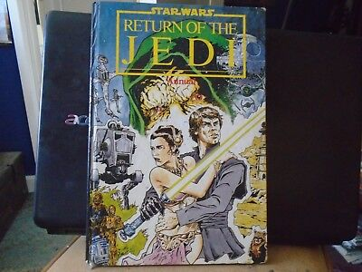 STAR WARS RETURN OF THE JEDI ANNUAL, HARDBACK