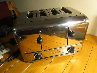 Dualit 4 Slice caterers toaster DCP4