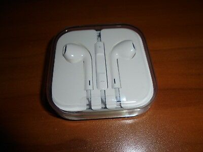 Original Apple Iphone Earphones earbuds In-Ear with Remote & Mic with 3.5mm NEW