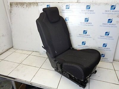 06-10 CITROEN C4 PICASSO 5DR REAR SIDE 2ND ROW MIDDLE CENTRE SEAT