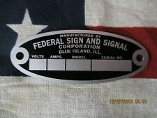 Federal Enterprise Replacement Badge Model 18 Solar Ray /& 19 Propello Ray