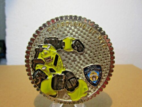 NYPD New York Police Department Transformers Bumblebee Challenge Coin