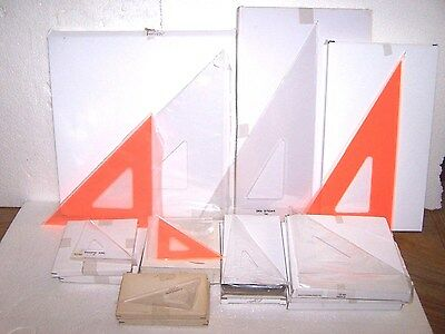 Drafting Triangle Fluorescent 4  6  8 12 14  16  Clear Graphic Art Pacific Arc