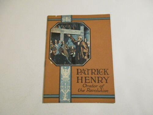 Vintage 1924 John Hancock Mutual Life Insurance Patrick Henry Booklet~12