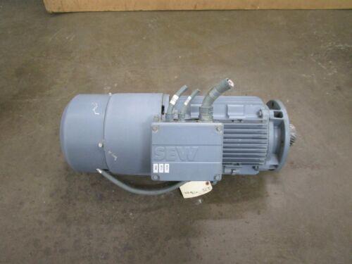 SEW-EURODRIVE KH87/T DV132ML4/BM/HR/TF/EV1S 9.2KW ELECTRIC MOTOR 266/460V 3PH