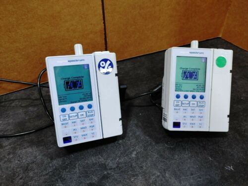 Sigma Spectrum Infusion Pump, Wireless Battery, Pole Clamp & Power cord