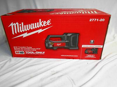 Milwaukee 2771-20 M18 Fuel 18v Water Transfer Pump Bare Tool New