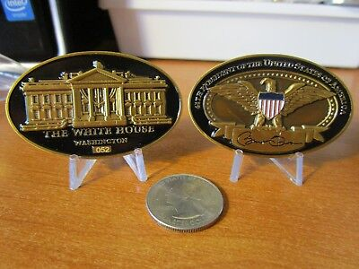 Barack Obama 44Th President Of The United States Potus Serialized Challenge Coin