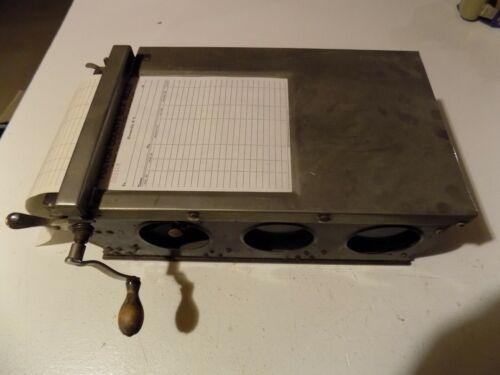 Vintage Antique Register Receipt Machine Bill of Sale!!Hamilton
