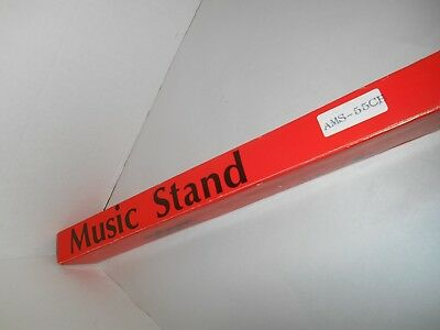 adam Metal Folding Telescopic Music Stand AMS-55CH in Box ()