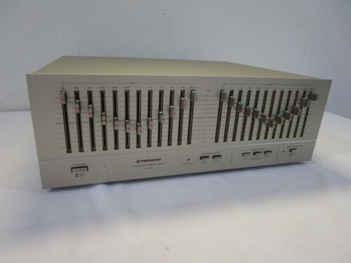 Nice & Clean Vintage Pioneer SG-9 12 Band Stereo Graphic Equalizer - SG-9800