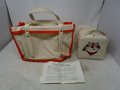 Vintage Kellogg's *TONY THE TIGER TENNIS TOTE BAG WITH COOLER*