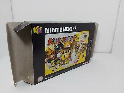 Mario Party 2 - PAL - Nintendo 64 - N64 - Only Box