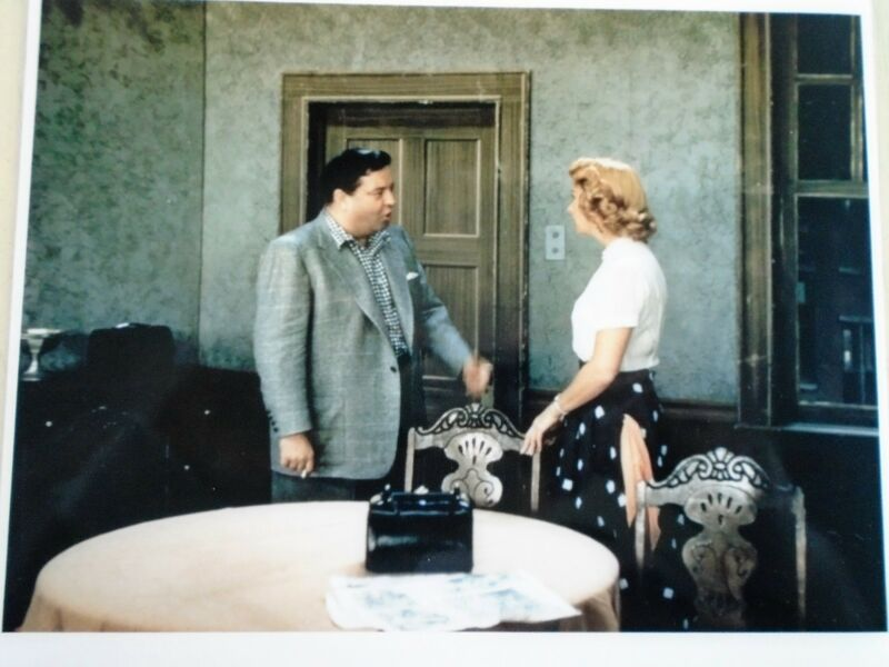 """Honeymooners - Color 8 x 10"""" photo - the Kitchen - new cond."""