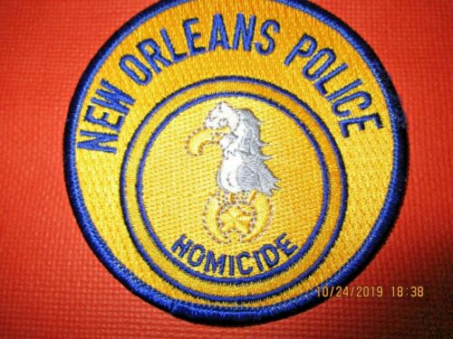 Collectible Louisiana Police Patch,New Orleans Homicide Patch,New