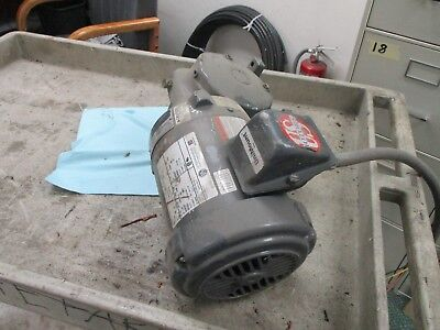 U.s. E180 Electrical Motor W Syncrogear Module E180a .5hp 1800rpm 208-230460v
