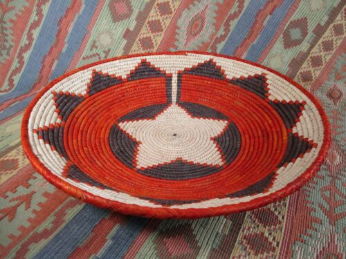 Southwestern Style Basket   Great Wall Decor  Fine Weave  over 12 inches
