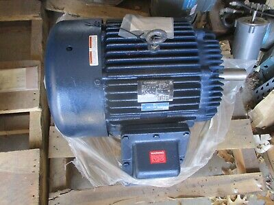 Marathon 20 Hp 3 Phase 230460 Volt High Efficiency Electric Motor- New