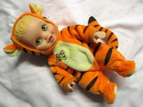 """Lauer Toys 10"""" Water Babies Green Eyes 1999 Doll Tigger Outfit *New out of Pkg"""