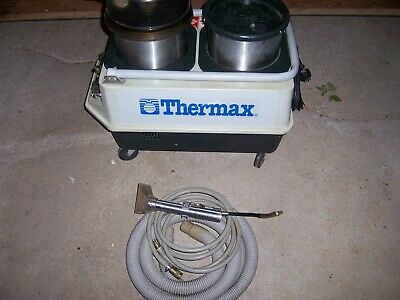 Used Heated Carpet Cleaner Cp-3 Thermax Extractor  Auto Detailing