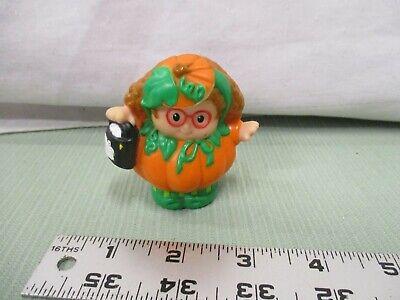 Fisher Price Little People Halloween Maggie Pumpkin costume girl Trick Treat