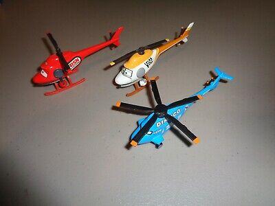 Disney Pixar CARS: 3 Helicopters Car Die Cast